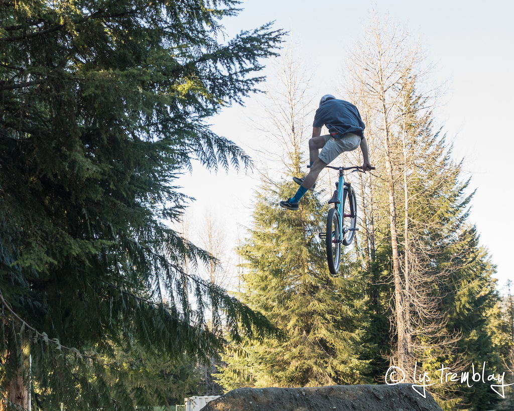 No Foot Can on last. Pic: Lys Tremblay