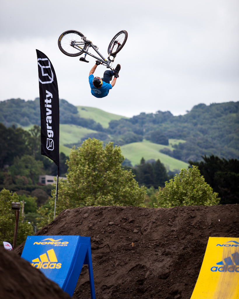Greg Watts with a huge flip whip