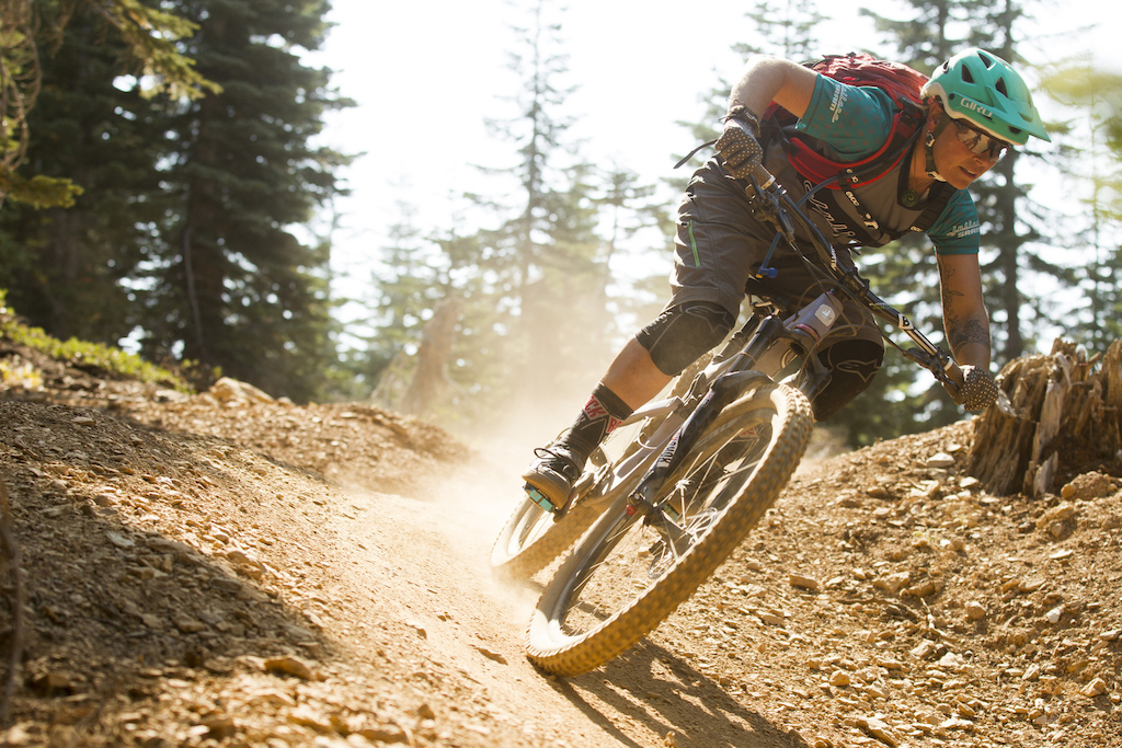 DOWNIEVILLE, California - 10 September 2015 - during the launch of the new Santa Cruz Bicycles Bronson & Juliana Bicycles Roubion. Photo by Gary Perkin