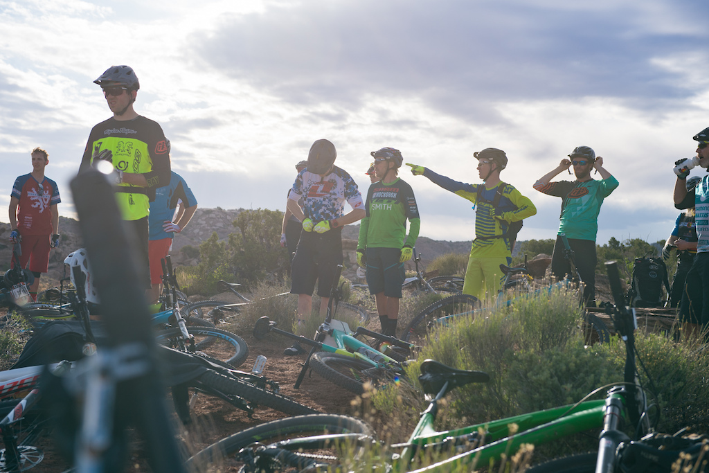 Riders at the 2016 SCOTT Enduro Cup in Moab Utah