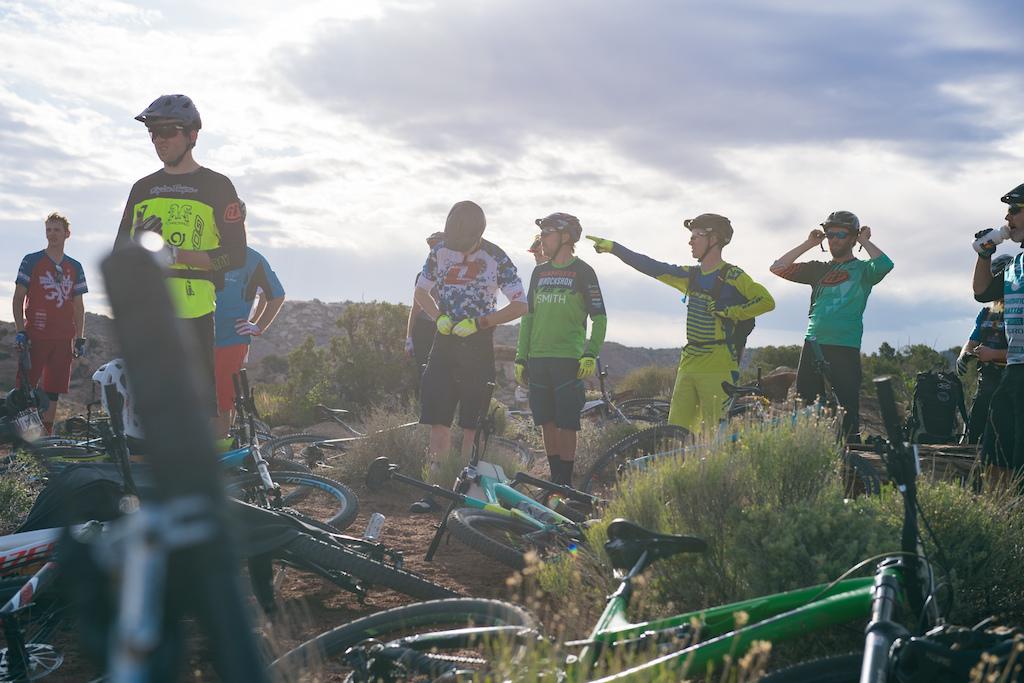 Riders at the 2016 SCOTT Enduro Cup in Moab Utah