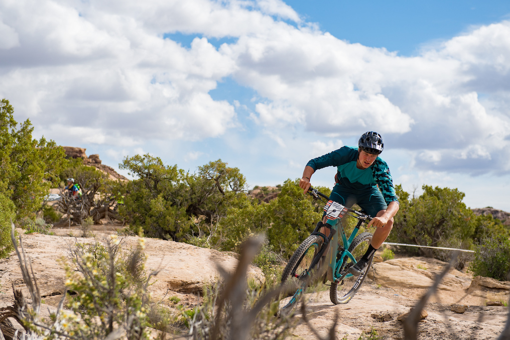 Dylan Stucki at the 2016 SCOTT Enduro Cup in Moab Utah