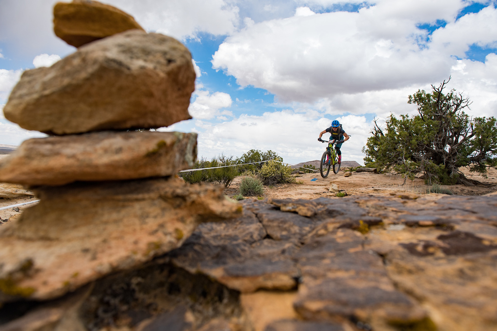 Cooper Dendel at the 2016 SCOTT Enduro Cup in Moab Utah
