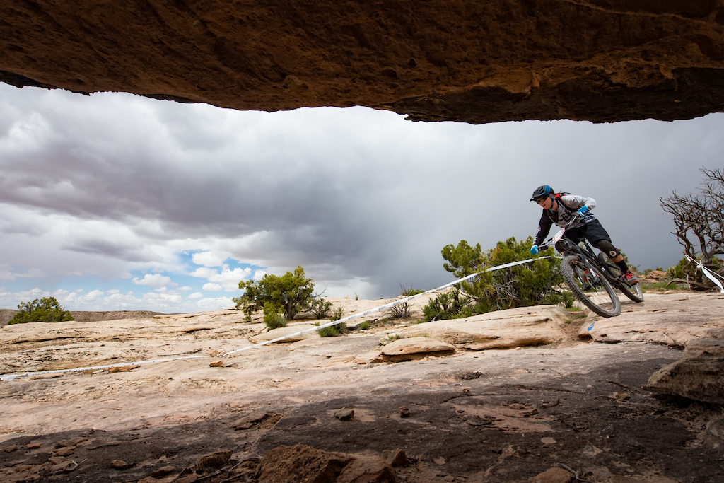 Tyson Baker at the 2016 SCOTT Enduro Cup presented by Vittoria in Moab Utah