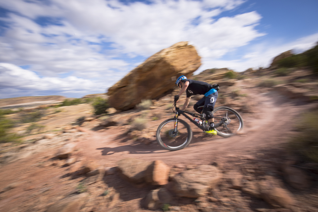 Garth Spencer at the 2016 SCOTT Enduro Cup presented by Vittoria in Moab Utah