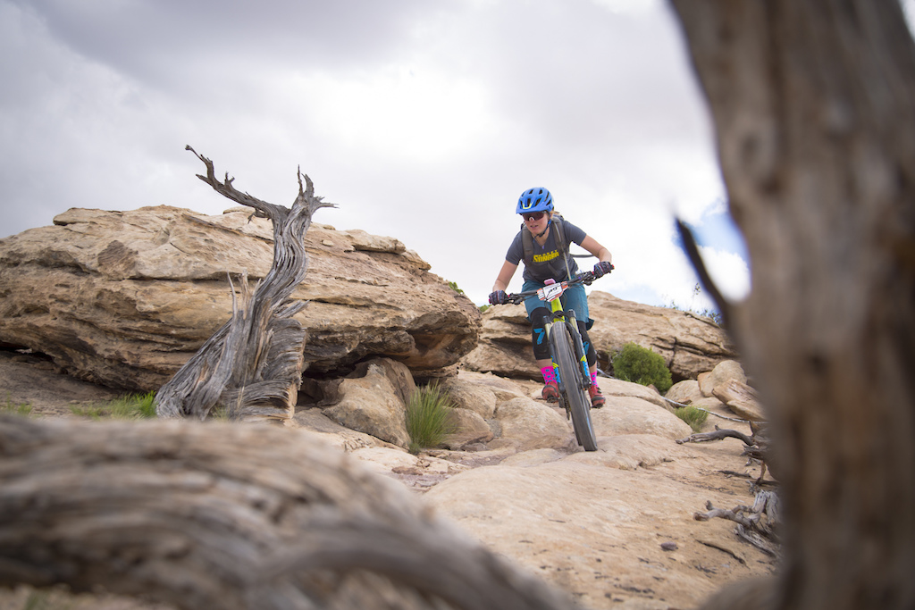 Cooper Dendel at the 2016 SCOTT Enduro Cup presented by Vittoria in Moab Utah