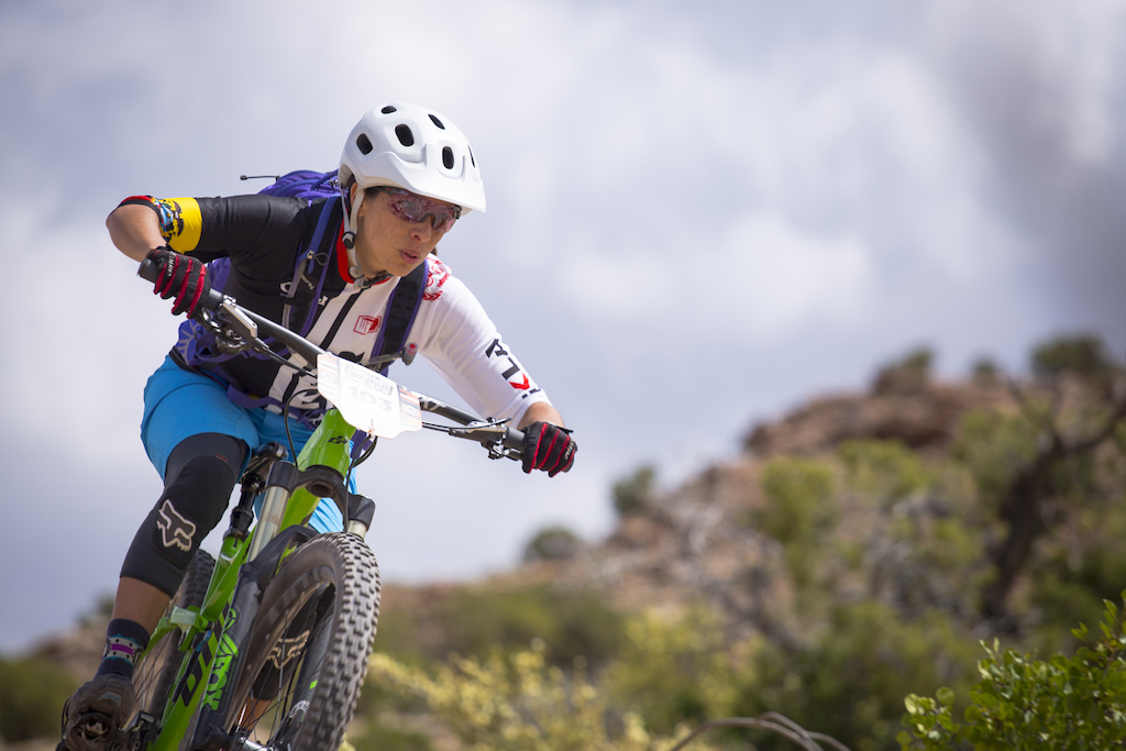 ANGELICA RAMIREZ at the 2016 SCOTT Enduro Cup presented by Vittoria in Moab Utah