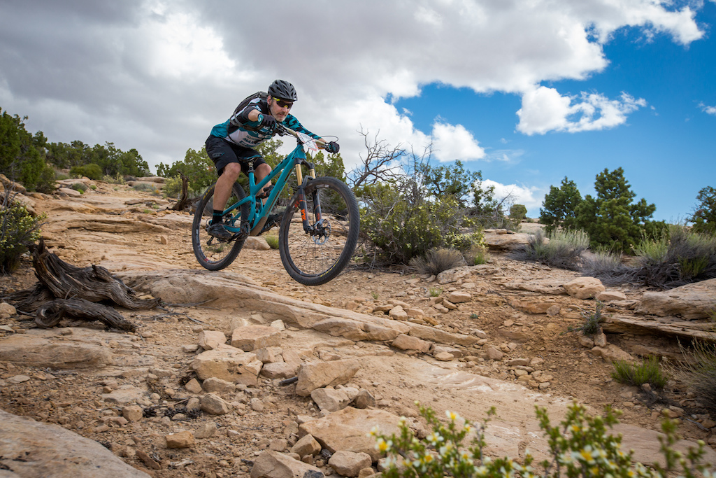 Mike West at the 2016 SCOTT Enduro Cup presented by Vittoria in Moab Utah
