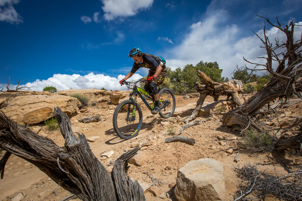 Naish Ulmer at the 2016 SCOTT Enduro Cup presented by Vittoria in Moab Utah