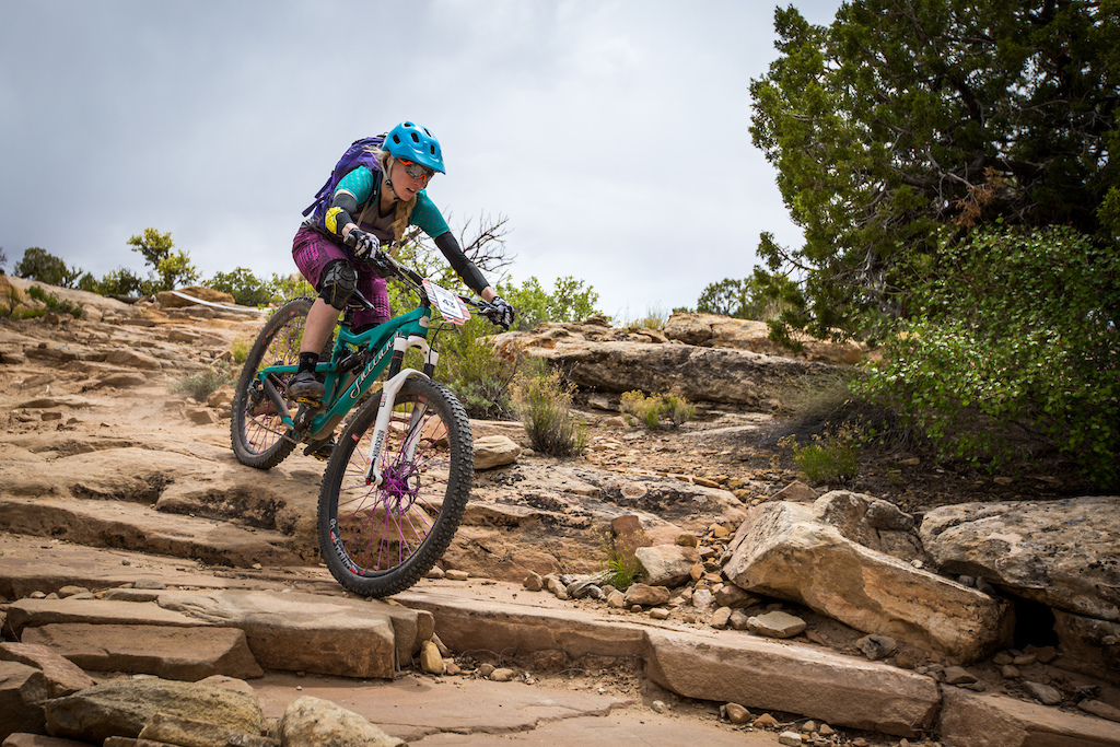 Ileana Anderson at the 2016 SCOTT Enduro Cup presented by Vittoria in Moab Utah