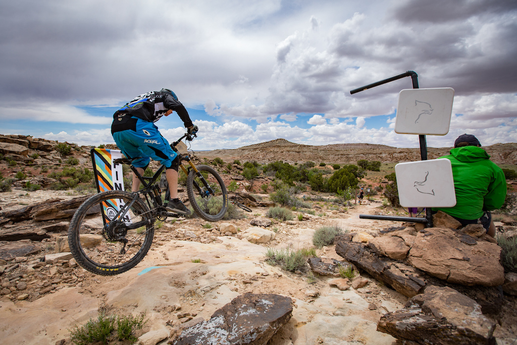 Rider at the 2016 SCOTT Enduro Cup presented by Vittoria in Moab Utah