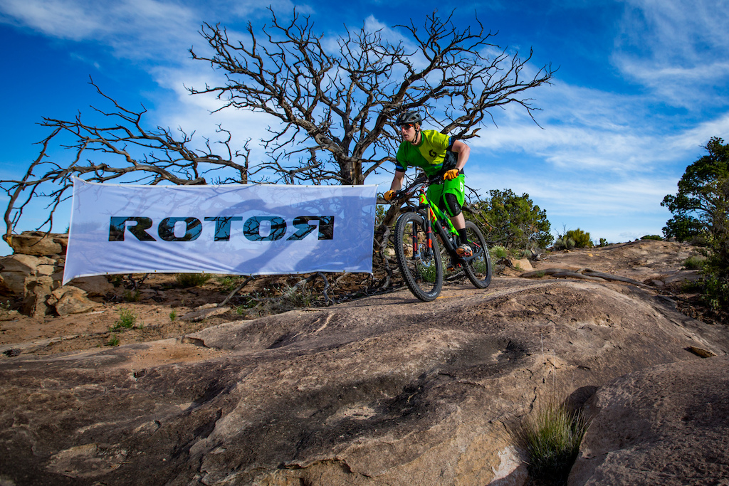 Stan California Jorgensen at the 2016 SCOTT Enduro Cup presented by Vittoria in Moab Utah