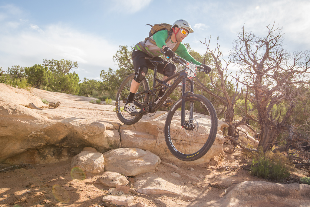 Mike Taylor at the 2016 SCOTT Enduro Cup presented by Vittoria in Moab Utah