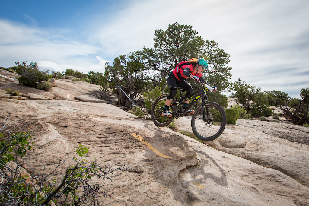 Teal Stetson-Lee at the 2016 SCOTT Enduro Cup presented by Vittoria in Moab, Utah