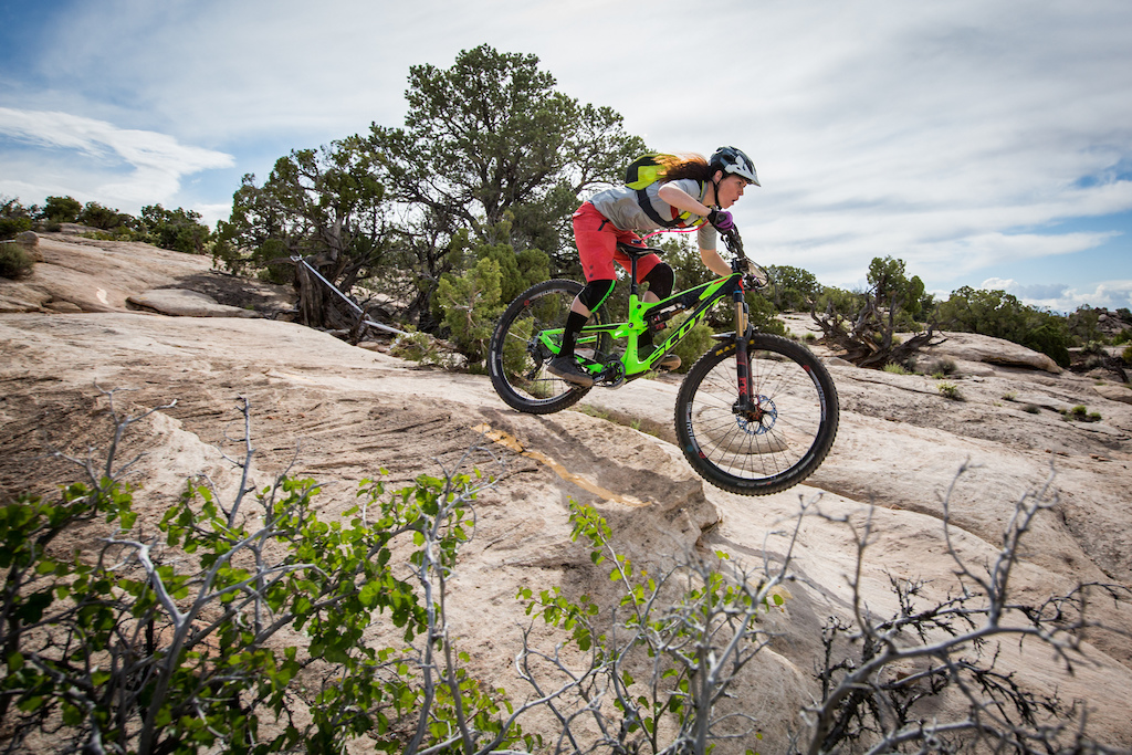 Amanda Cordell at the 2016 SCOTT Enduro Cup presented by Vittoria in Moab Utah
