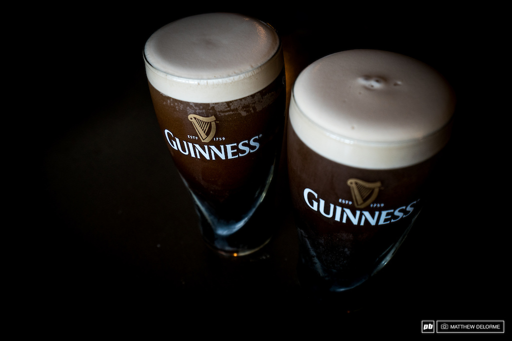 What could be more Irish than a couple of pints of this gold?