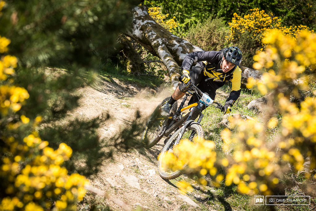 Flat pedals on the gas.  What a day for Sam Hill to take 2nd, just a few seconds back after 25 minutes of racing.