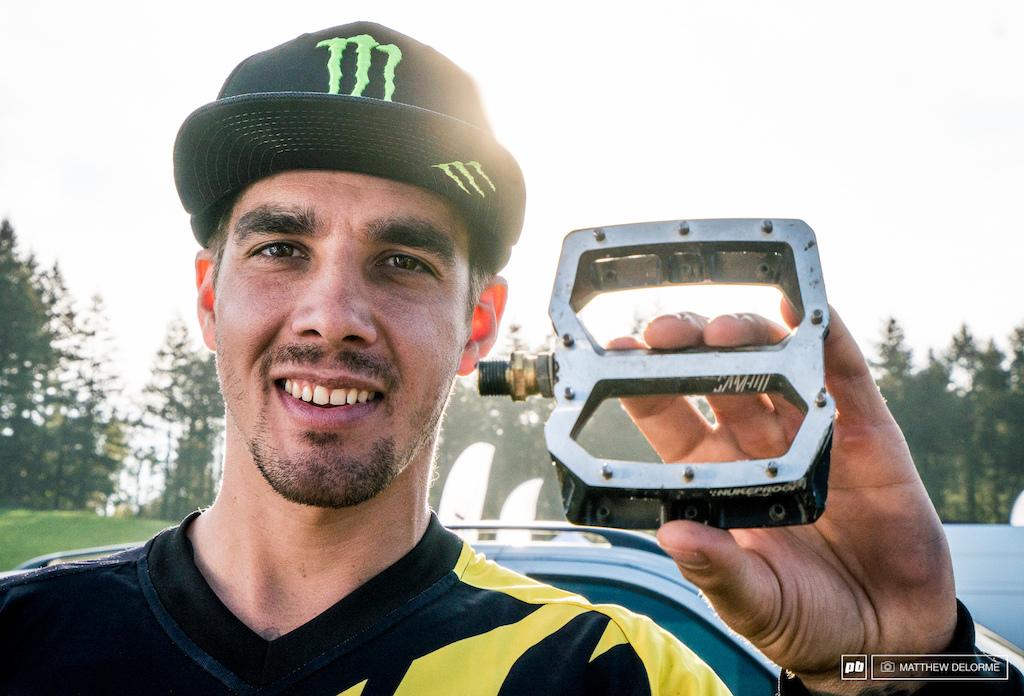 Flat f#c*i@g pedals win medals.