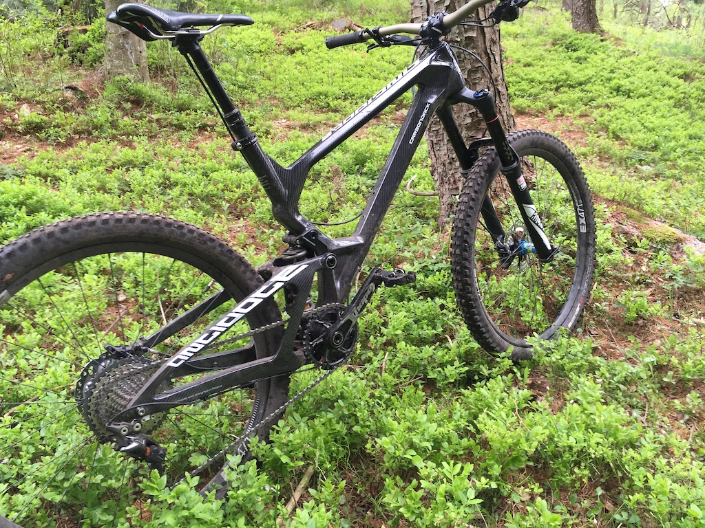 Antidote Carbon Jack - my dark soulmate. At an unimpressive 14.2kg it is the best bike I have ever owned and that's by a big margin.