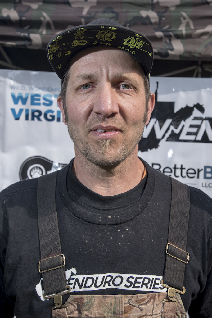 Benji Klimas mad man behind the West Virginia Enduro Series