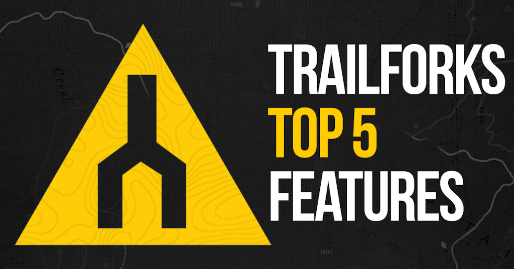 Trailforks top 5 features demo