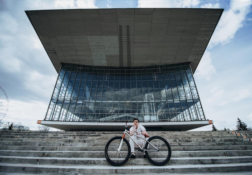Pavel Vabishchevich's Japanese Bike