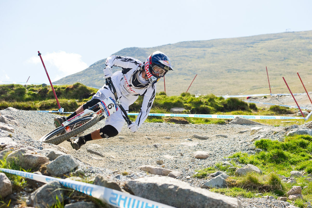 Steve Smith at Fort William in 2011.