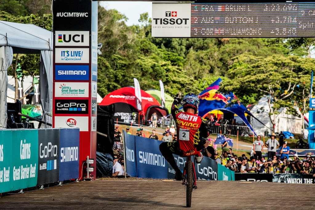 , during the 2016 UCI MTB World Cup, round two Cairns, Australia. Photo Sven Martin
