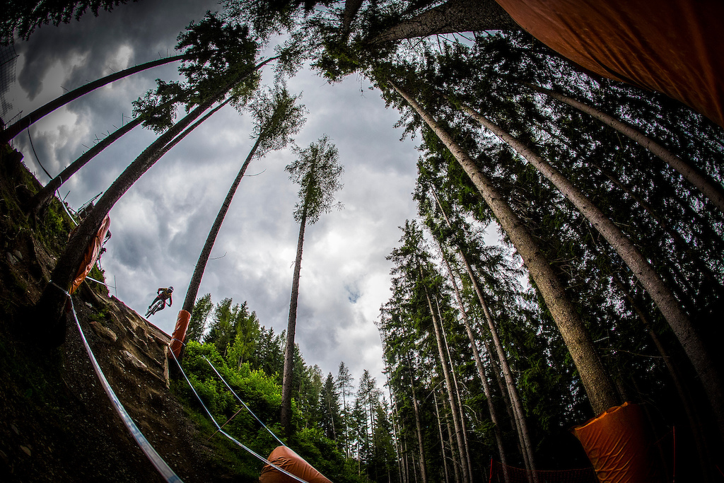, during the Leogang MTB World Cup, Austria. Photo Sven Martin
