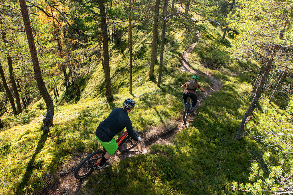 Epic natural ridgeline trails from mountain huts to valley bottom. Check more on: Ridgelinetrails.si Photo: Boris Keber