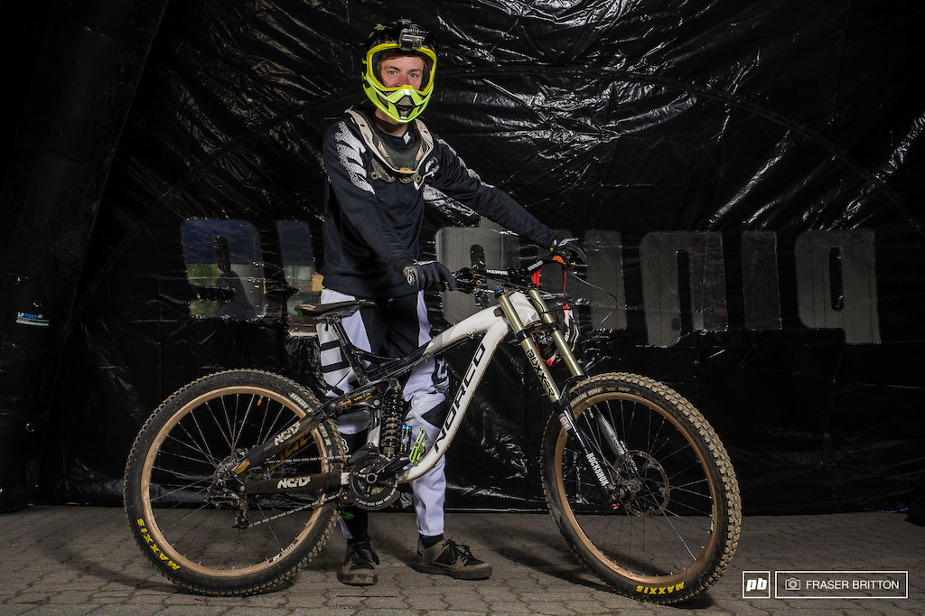 Philipp also from Germany with his Norco Aurum