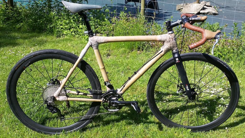 Home made bamboo gravel / cyclo cross bike