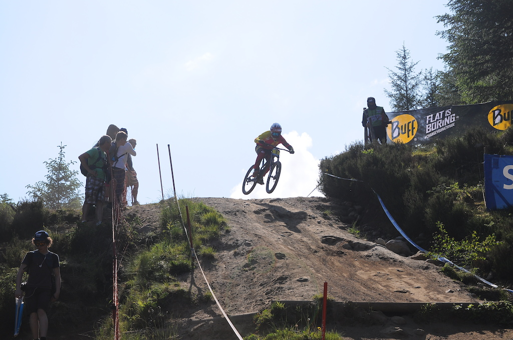 Flying into the off beat wall