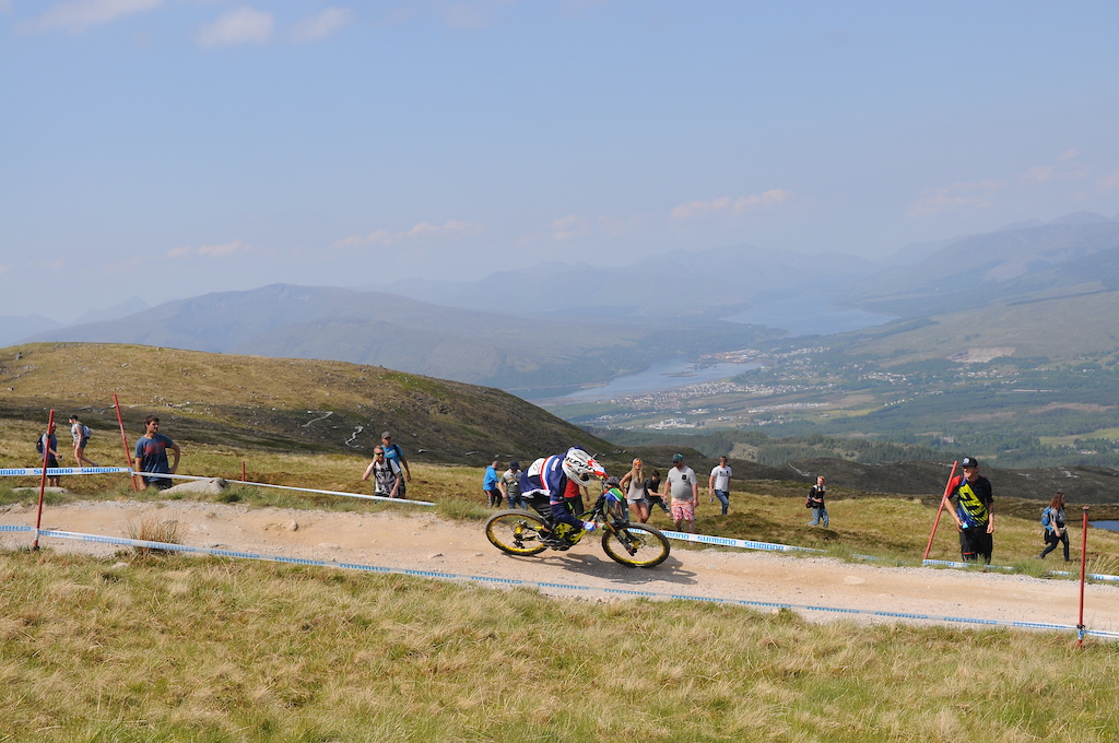 View all the way down to Fort William