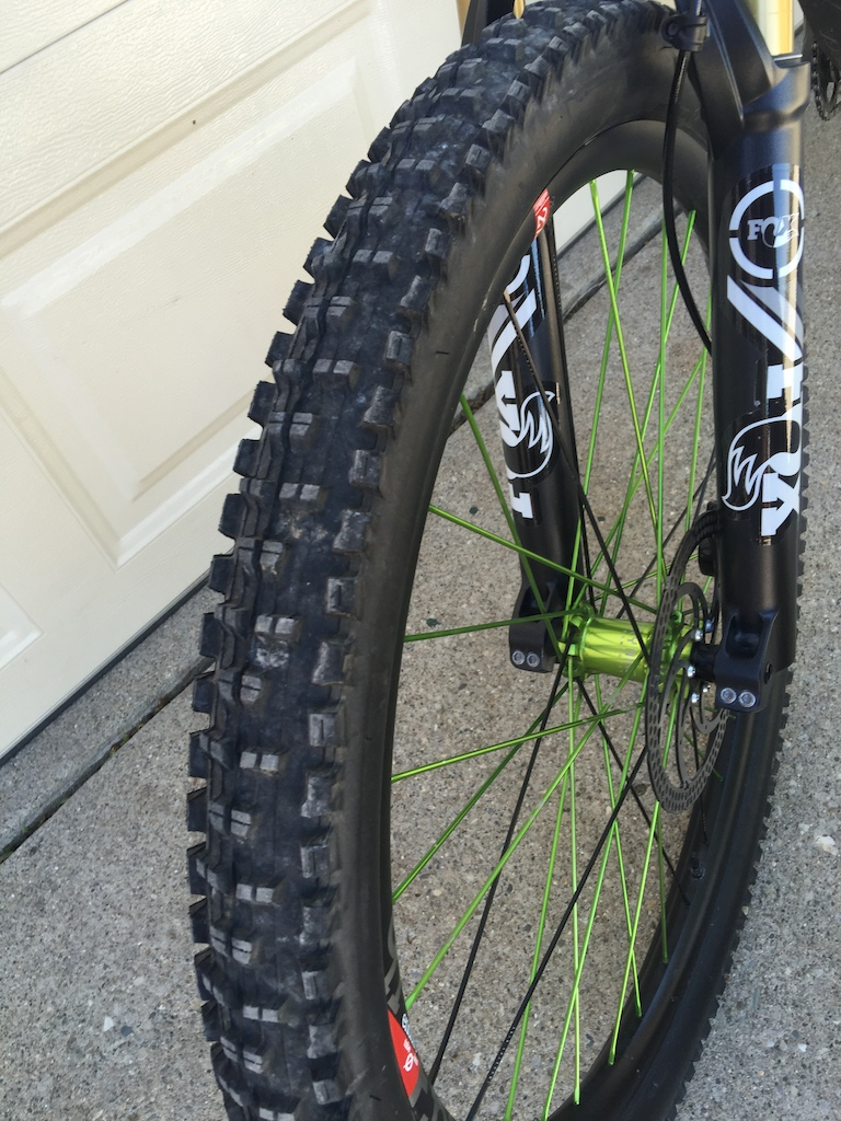 2015 Custom Industry nine wheelset
