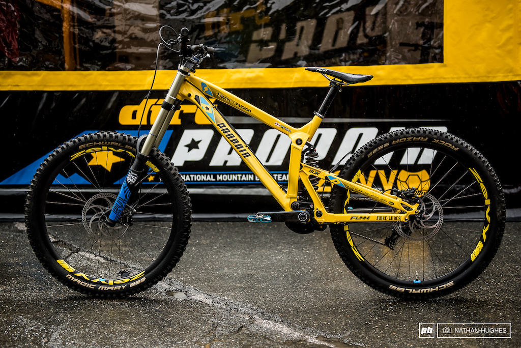 ced352729bc Phil Atwill's Propain Rage - Leogang DH World Cup - Pinkbike
