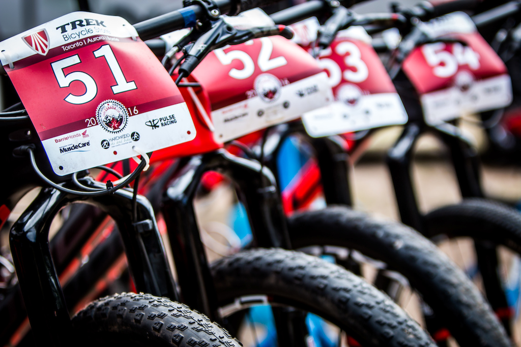 We hear that that there was a fierce argument at the Norco Factory Team dinner table last night about whether the hardtail or full-suspension was best for this course, which may or may not have turned into a wrestling match. It appears that there was no clear winner; two hardtails, two dualies...