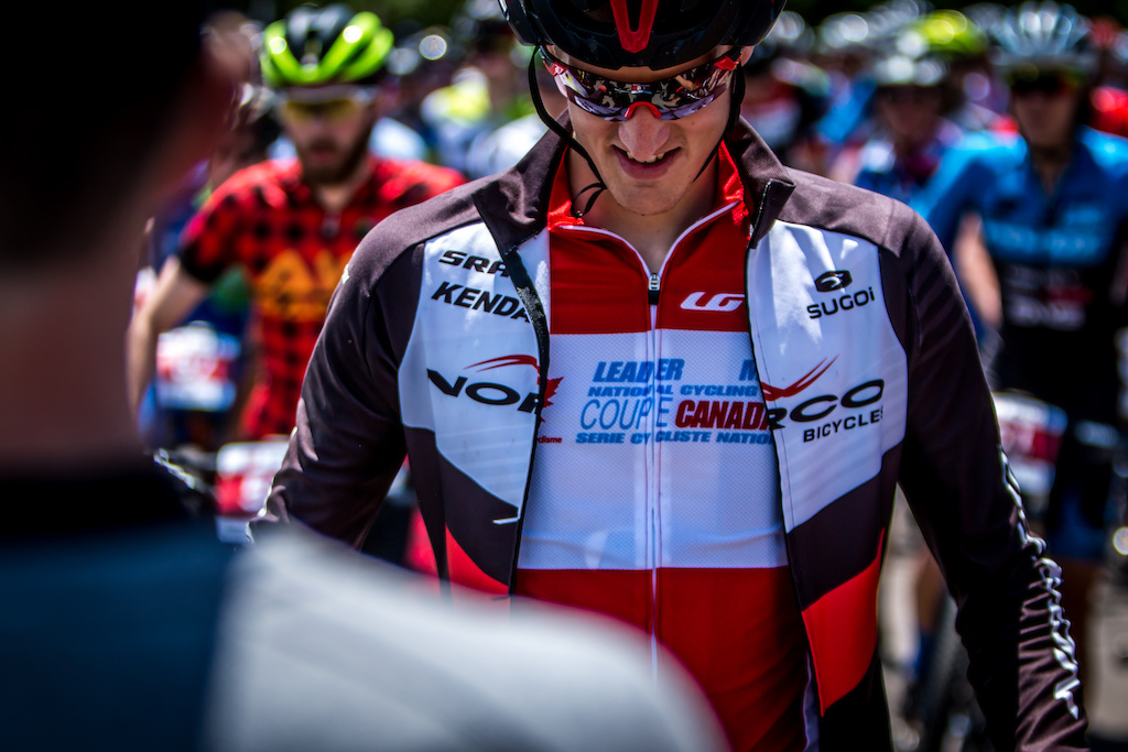 Evan McNeely was hoping to keep his leader s jersey today and he did. He will be starting the last race of the series with it but the overall win is still far from certain for him.