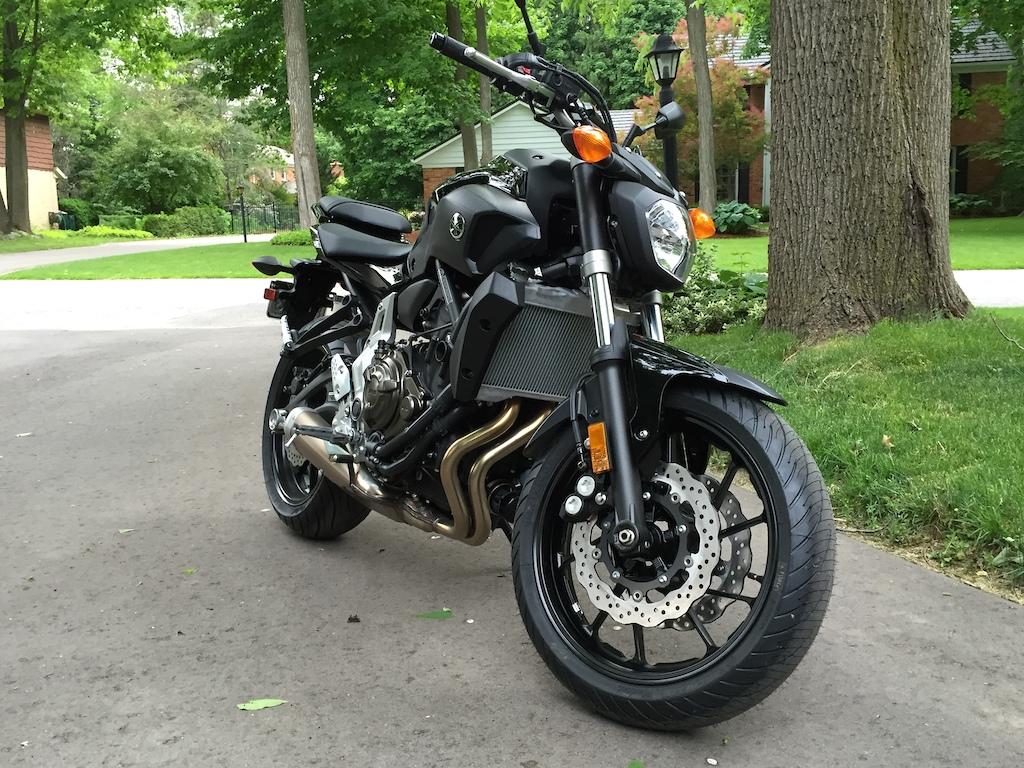 my new 2016 Yamaha fz 700