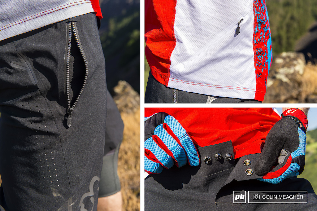 Details on Fox s Attack Pro Shorts and the Attack Pro 3 4 sleeve Jersey.