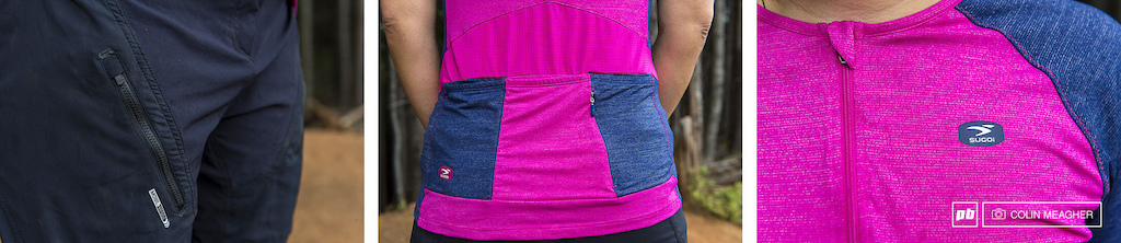 Details of Sugoi s women s Padded RPM Shorts and Jersey.