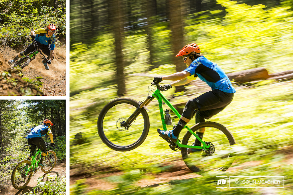 Tyler at play in Post Canyon with the Sugoi RSX Suspension Short and RSX Jersey.