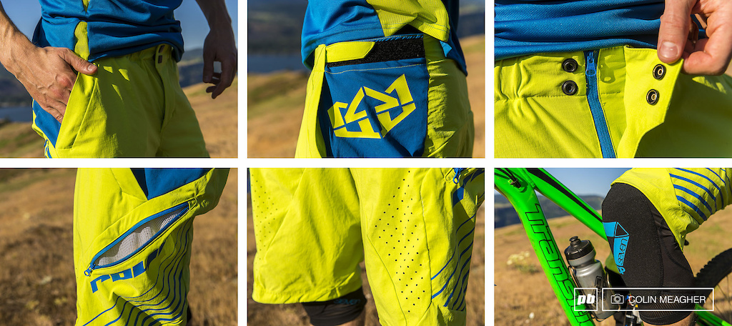 Details on Royal Racing s Stage Short and the Transition Knee Guard.