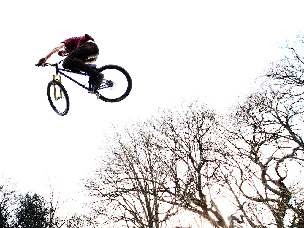 Going back to one of my first sessions properly spent photographing dirt jumps and first visits to S4P Bikepark early last year