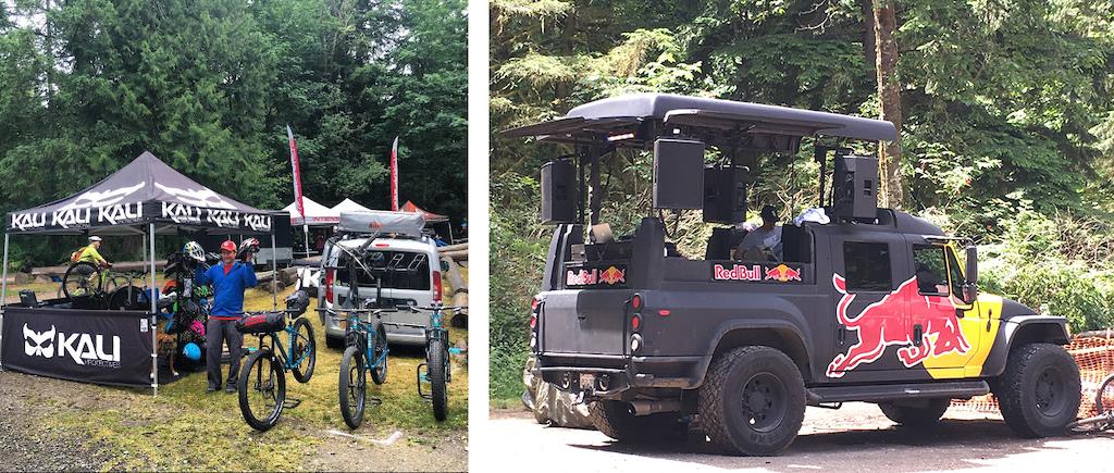 Kali Protectives Road Warrior PNW 2016 Evergreen MTB Festival