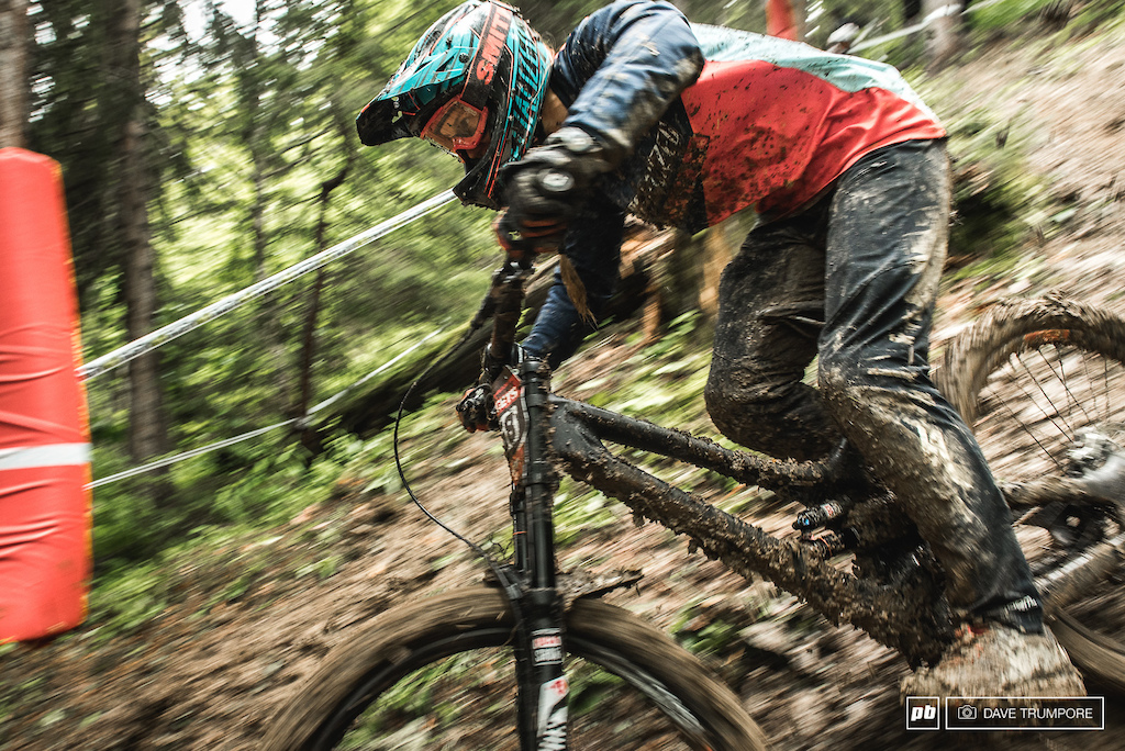 Miranda Miller looks aggressive and confident following her 3rd place just last week in Leogang.
