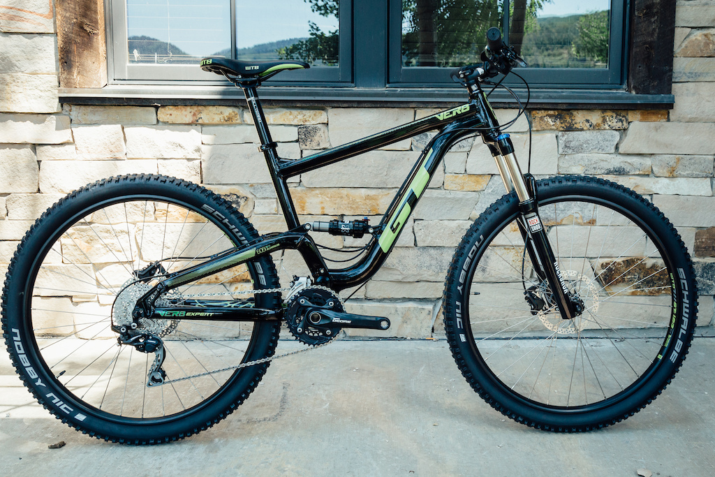 GT Verb entry dual suspension trail bike