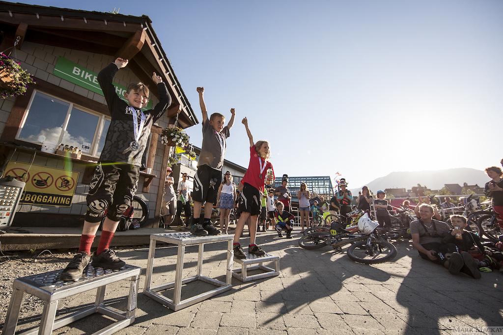 Whistler Bike Park Phat Kidz round one 2016