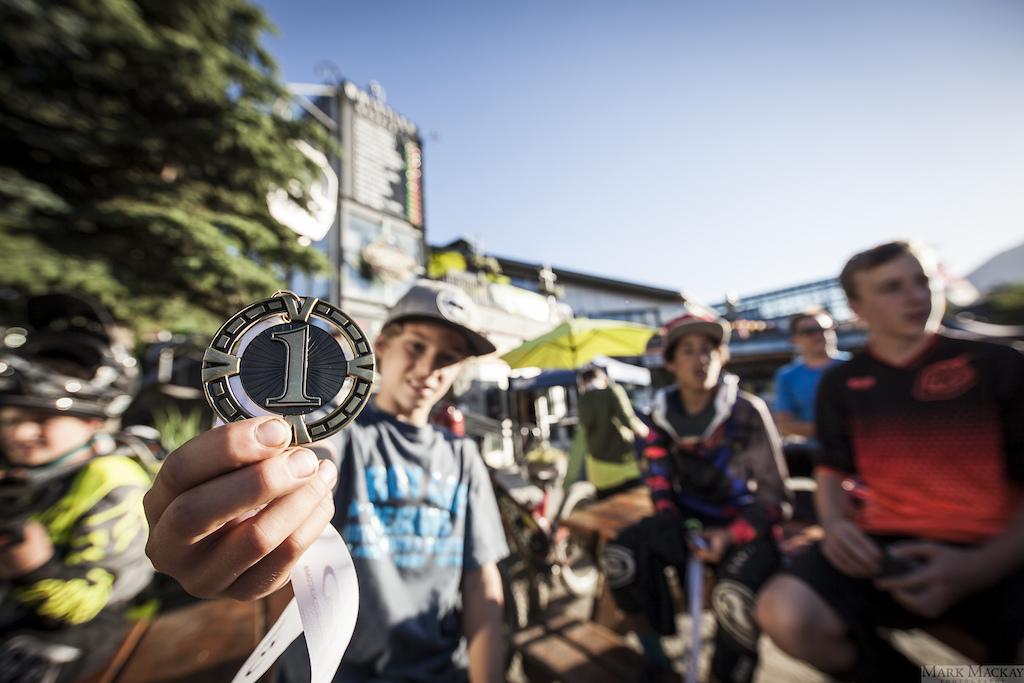Whistler Bike Park Phat Kidz, round one 2016