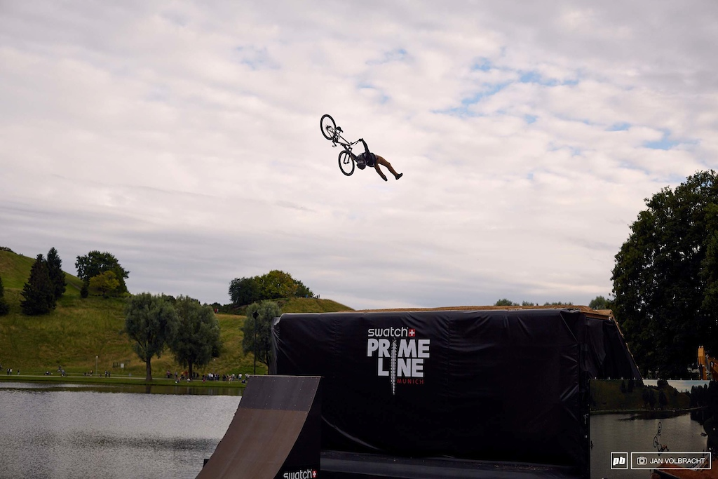 We saw big MX style out of Nico Scholze here at Prime Line.